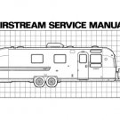 1972 Airstream Trailer Manual Combo All Models
