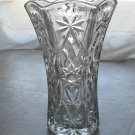 Early American Prescut (EAPC) Glass Vase- Star of David