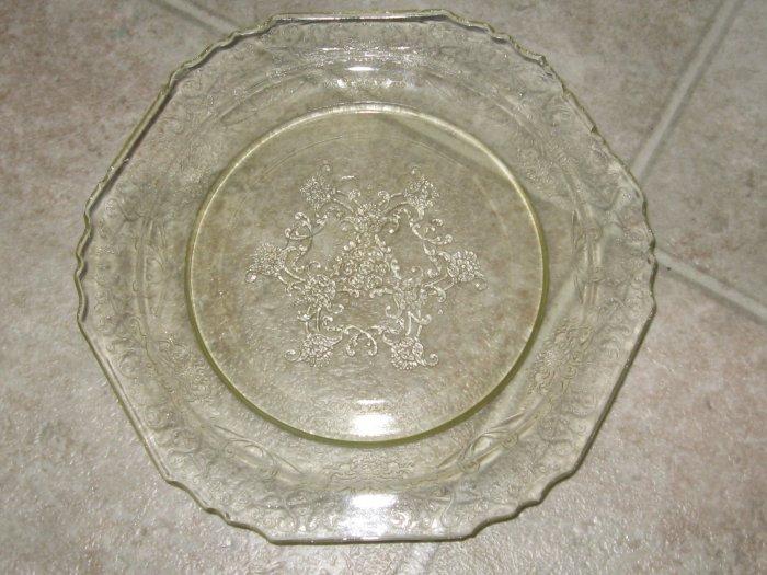 Florentine Depression Glass Plates Poppy No 1