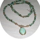 TURQUOISE & STERLING PENDENT NECKLACE TN128064
