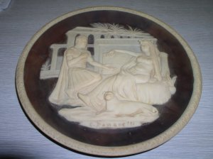 Incolay Anthony & Cleopatra Collectors Plate 1979