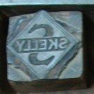 SOLD Vintage Skelly Gas Printers BLock