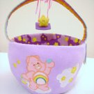 Round Plush Care Bear  Basket