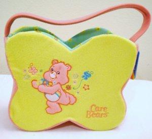 Butterfly Shaped Plush Care Bear  Basket