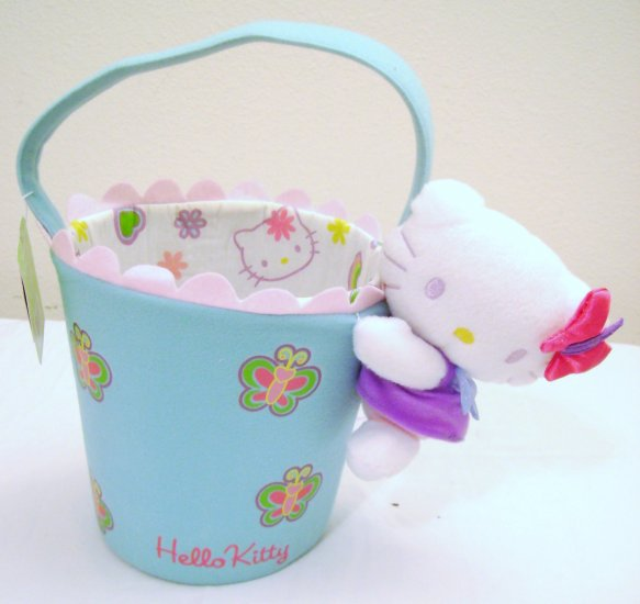 Pail Shaped Hello Kitty Basket