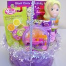 Polly Pocket Filled Gift Basket