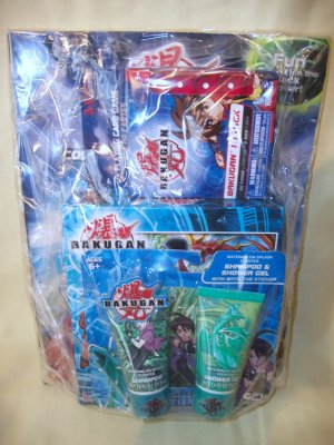 Bakugan Battle Brawlers Gift Basket Pack