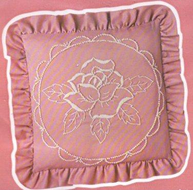 Rose Pillow Candlewicking kit