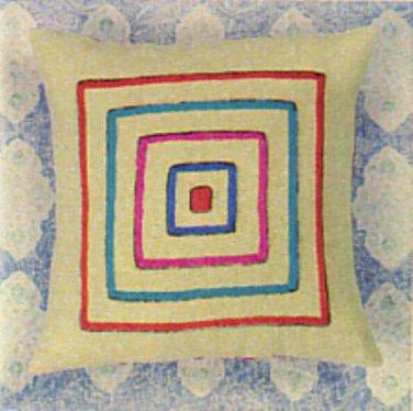 You're Square Pillow crewel kit (Kristin Nicholas)