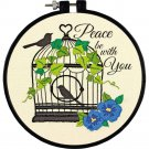 Learn-A-Craft Birdcage Embroidery Kit (floss) (hoop included)