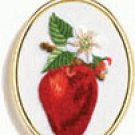 Apple embroidery kit (floss)