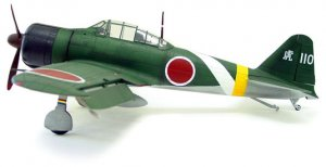 BBi Elite Force 1:18 Scale Zero fighter (Green)