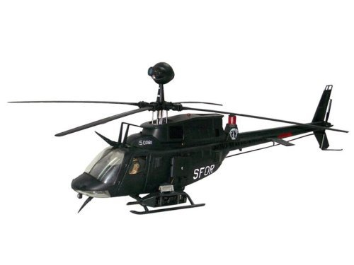 "BBi Elite Force 1:18 Scale ""Black Death"" Kiowa Recon Helicopter"
