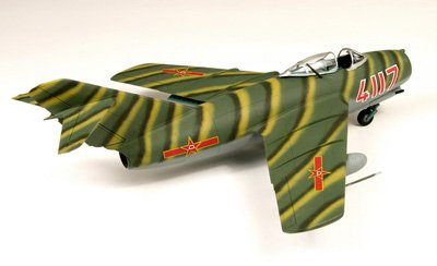 "Ultimate Soldier 1/18 Scale MiG-15bis - PRC ""4117"""