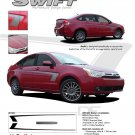 """SWIFT"" 2008-2011 Ford Focus Graphics and Stripes Kit"