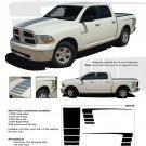 POWER RAM : 2009 2010 2011 2012 2013 Dodge Ram or Dakota Vinyl Graphics Kit