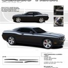 CLASSIC TRACK : Vinyl Graphics and Decal Kit for 2008 2009 2010 2011 2012 2013 Dodge Challenger