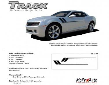 TRACK : 2010 2011 2012 2013 2014 Chevy Camaro Side Vinyl Graphics Kit