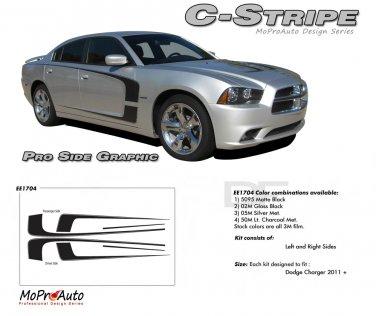 C-STRIPE : Vinyl Graphics Kit for 2011 2012 2013 2014 Dodge Charger