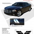 DOUBLE BAR : Vinyl Graphics Kit for 2011 2012 2013 2014 Dodge Charger