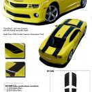 "BUMBLE BEE 2 : 2010 2011 2012 2013 2014 Chevy Camaro ""Transformers 3"" Style Racing Stripes"