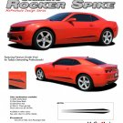 ROCKER SPIKES : 2010 2011 2012 2013 2014 Chevy Camaro Lower Rocker Vinyl Graphic Stripes