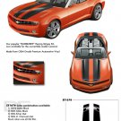 BUMBLEBEE CONVERTIBLE : 2011 2012 2013 2014 Chevy Camaro Racing Stripes Vinyl Graphic Stripes
