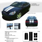 COBALT RALLY : Racing Stripe Kit for Chevy Cobalt or Pontiac G5