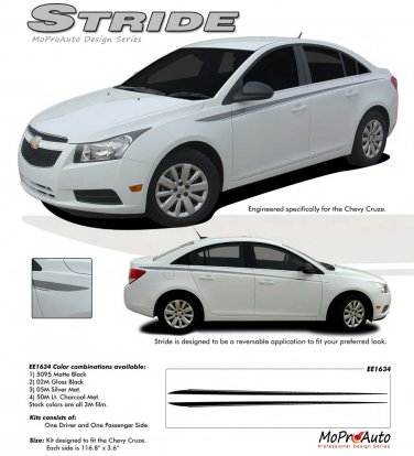 STRIDE : Chevy Cruze 2011-2013 Vinyl Graphics and Decals