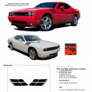 DOUBLE BAR : Hood Hash Style Vinyl Graphics Kit for 2008 2009 2010 2011 2012 2013 Dodge Challenger