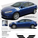 2013-2014 DART DOUBLE BAR : Fender Hash Stripes for Dodge Dart
