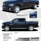 RAM HUSTLE : 2009 2010 2011 2012 2013 Dodge Ram Hood Spears and Side Stripes Vinyl Graphics Kit