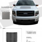 FORCE HOOD (Screen Print) : Ford F-150 Hood Vinyl Graphic Kit for 2009 2010 2011 2012 2013 Models