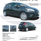 STILETTO : Vinyl Graphics Kit fits 2011 Ford Fiesta