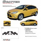 SCATTER : 2012 2013 Ford Focus Vinyl Graphics Kit