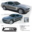 Mustang GETAWAY : 2010-2013 Ford Mustang Vinyl Graphics Kit