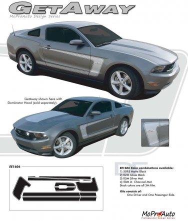 Mustang GETAWAY : 2010-2013 Ford Mustang Vinyl Graphics Kit