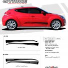 STRIKE : Vinyl Graphics Kit Engineered to fit the 2011 2012 2013 Hyundai Veloster