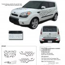 "SOUL CAT : ""Factory Style"" Vinyl Graphics Kit for 2010 2011 2012 2013 KIA Soul"