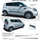 SOUL R : Vinyl Graphics Kit for 2010 2011 2012 2013 KIA Soul
