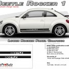 BEETLE ROCKER 1 : Lower Rocker Panel Vinyl Graphics Kit for 1998-2013 Volkswagen Beetle
