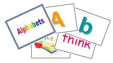 Alphabets Song Flash Cards
