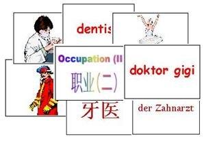 Occupation Flash Cards 2