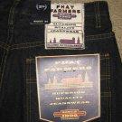 NEW Phat Farm Mens denim jeans shorts Dark Blue Size 30