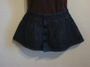 NEW Juniors/Womens dark blue denim mini jean skirt size Medium