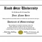 Diploma for Yamaha ROAD STAR motorcycle owner