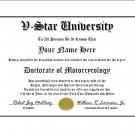 Diploma for Yamaha V STAR motorcycle owner
