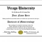 Diploma for Yamaha VIRAGO motorcycle owner