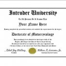 Diploma for Suzuki INTRUDER motorcycle owner