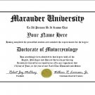 Diploma for Suzuki MARAUDER motorcycle owner